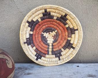 "11"" Vintage Navajo Wedding Basket Native American Indian Arts Ceremonial Basket"