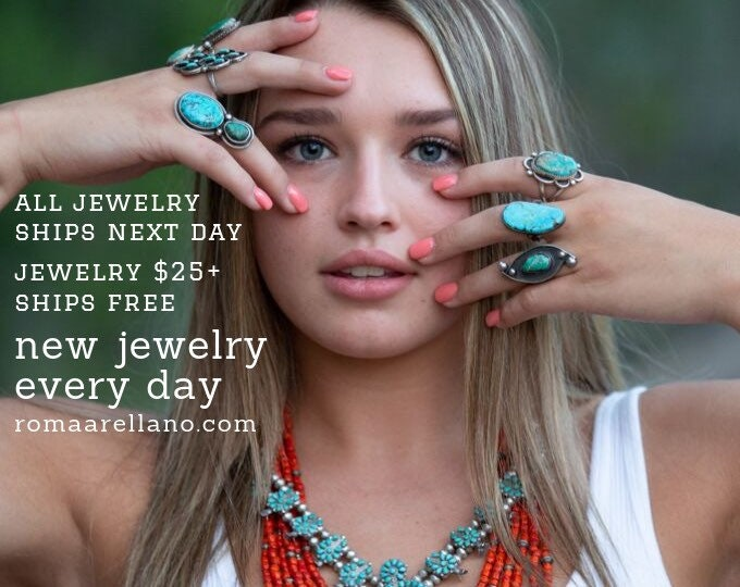 Featured listing image: All Jewelry Ships Next Day