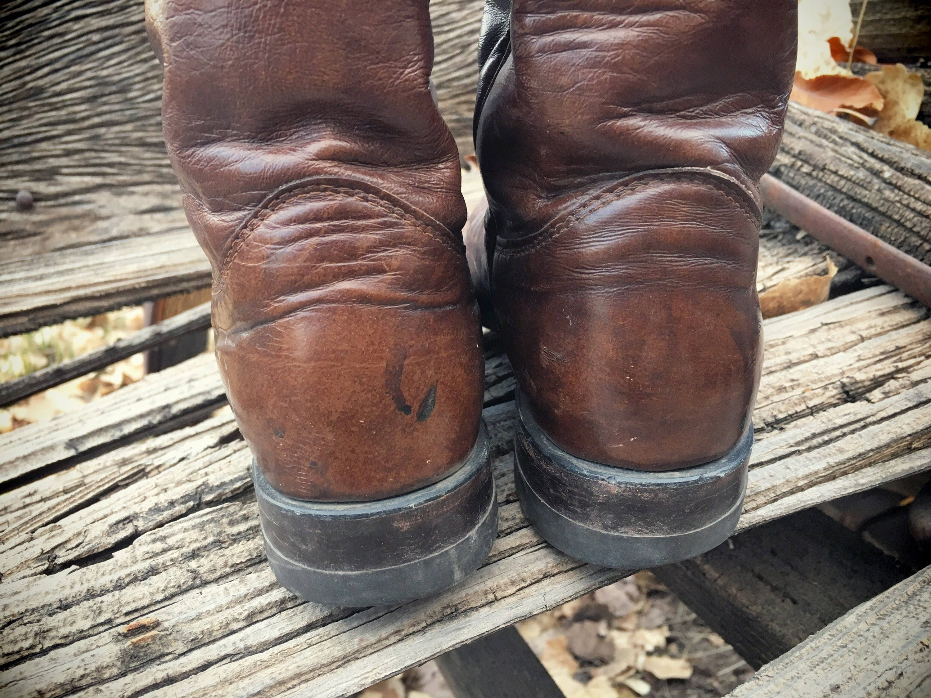 503ab5b87ac Vintage Cowboy Boots Women Size 7 Justin Roper Cowgirl Boots ...