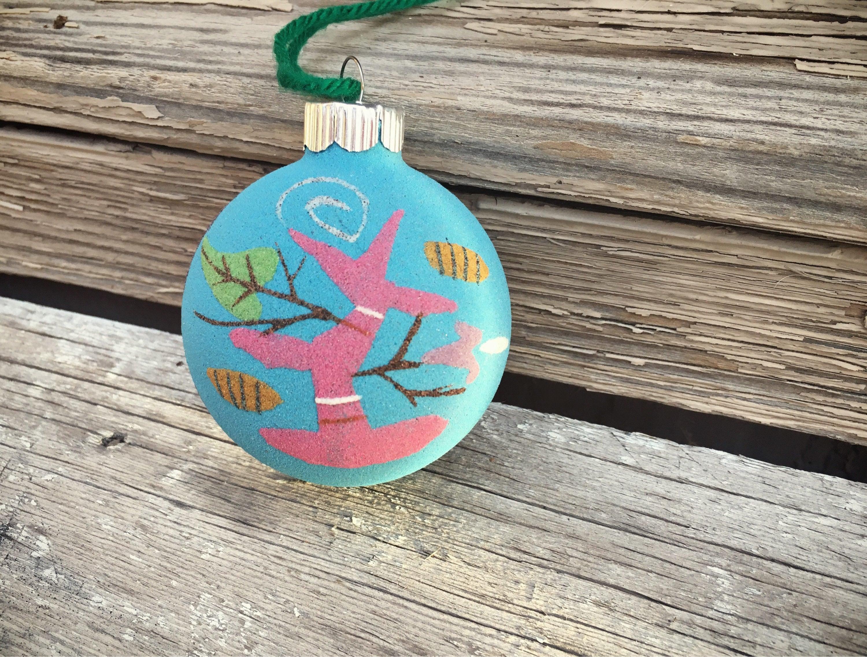 Vintage Native American Christmas Ornament Navajo Sand ...