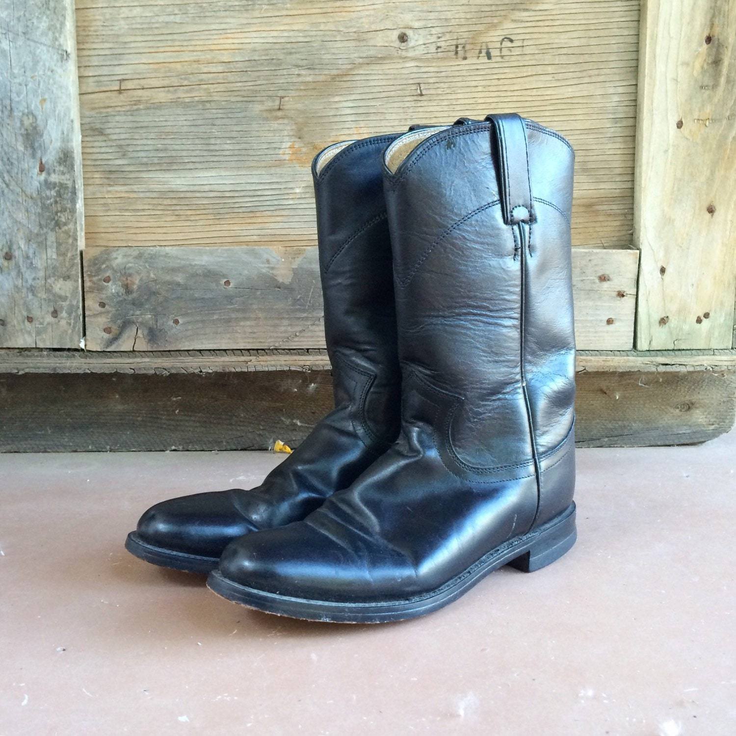 6e5b9e4b917 Vintage Justin Roper cowgirl boots Women's size 6 B (fits up to size 6.5)
