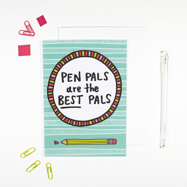 Best pen pal sites