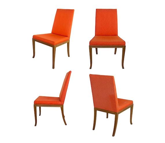 Prime Set Of 4 Dining Chairs By T H Robsjohn Gibbings For Baker Furniture Klismos Widdicomb Midcentury Evergreenethics Interior Chair Design Evergreenethicsorg