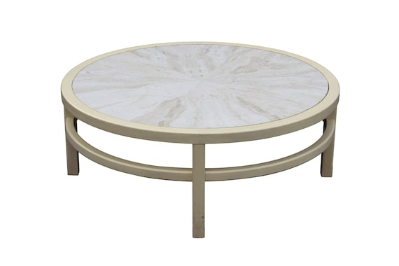 Awe Inspiring Round Mahogany Coffee Table With A Starburst Travertine Marble Top By Widdicomb 40 Dia Lamtechconsult Wood Chair Design Ideas Lamtechconsultcom