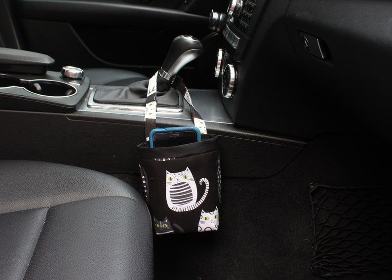 CAR CELLPHONE Caddy Ink & Arrow Cat Fish Black Sunglasses image 0
