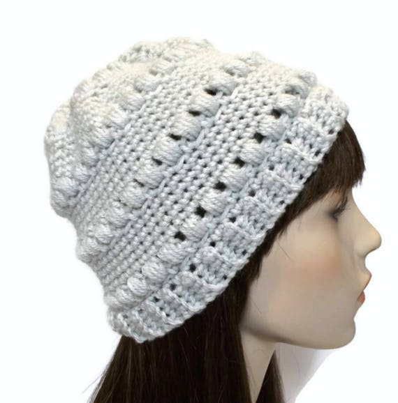 Light Gray Beanie Beanies for Women Cute Hats for Teenage  8a9a69441da