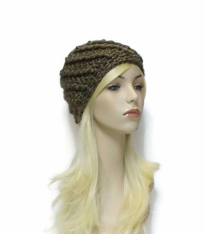 566151ac9dd82 Gray Brown Beanie Hat Cute Beanies Chunky Hat for Women Teen