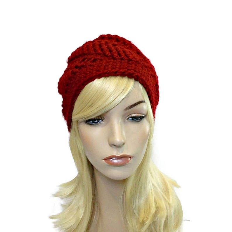 1ce87169fad65 Red Beanie Hat Dark Red Hat Unique Beanies for Women Hats