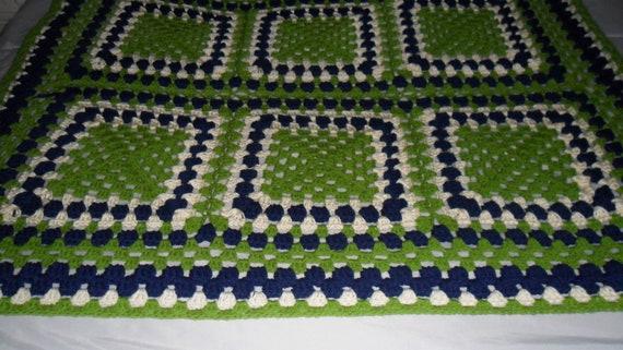 Afghan48inx38in Häkeln Crochet Decke Häkeln Häkeln Etsy