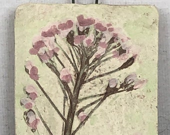 Flower and Plant  Impressions Ceramic Jewelry