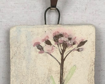 Wildflower Imprint Pendant