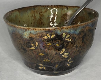 Flowering Sprigs Serving Bowl