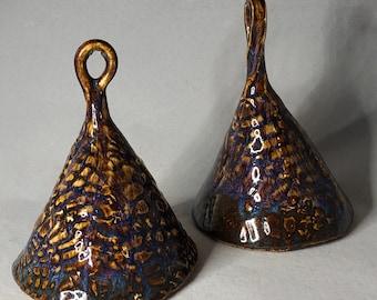 Textured Ceramic Bells