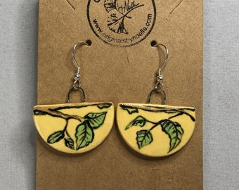 Spring Hope Ceramic Earrings