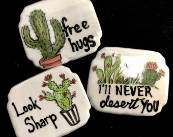 Cacti Magnets