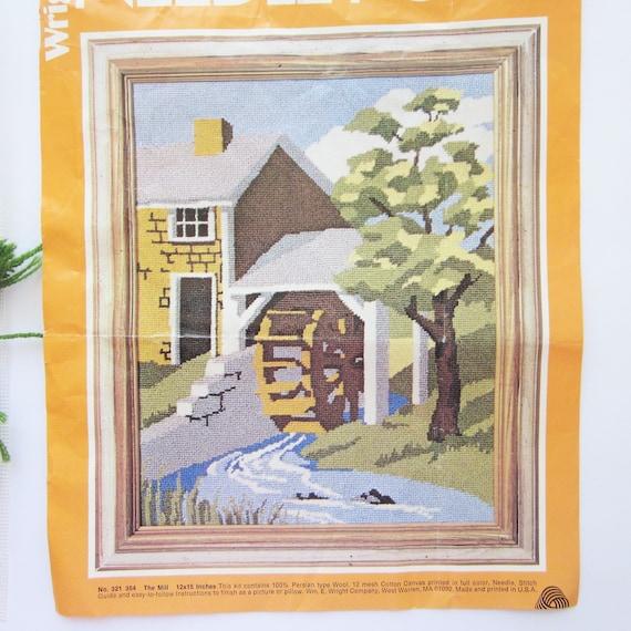 The Mill Vintage Wright/'s Needlepoint Kit