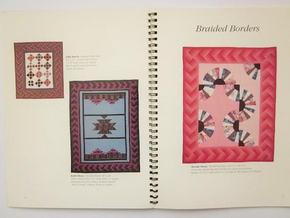 John Flynn Quilting Pattern Book Braided Borders Spiral Etsy