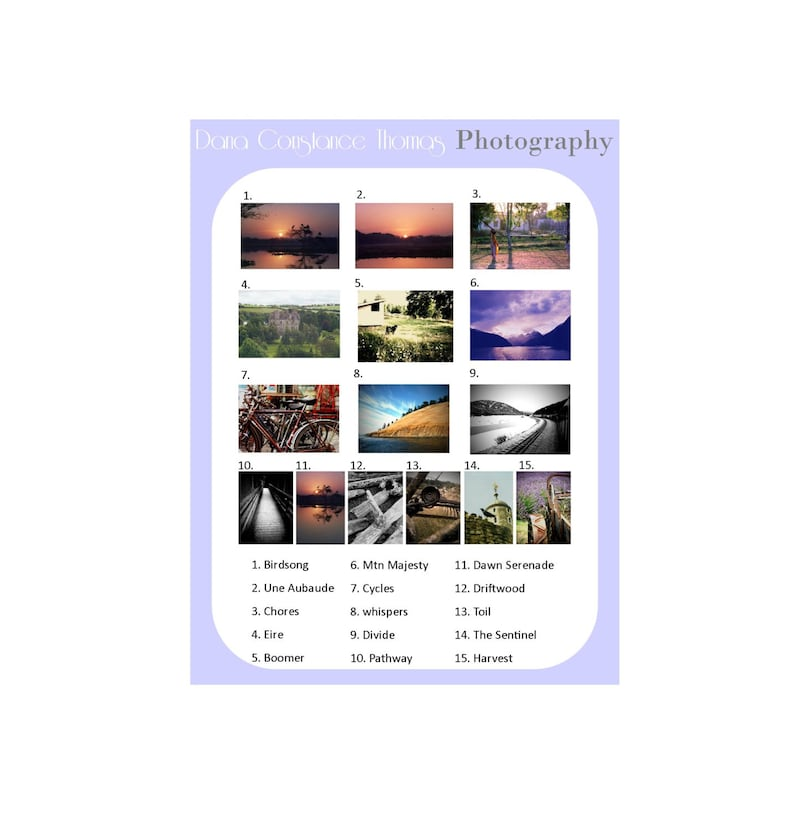 3 Fine Art Photography Cards Mix N Match You Choose Blank Nature Abstract Landscape Art