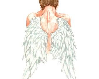 Fashion Illustration- Angel