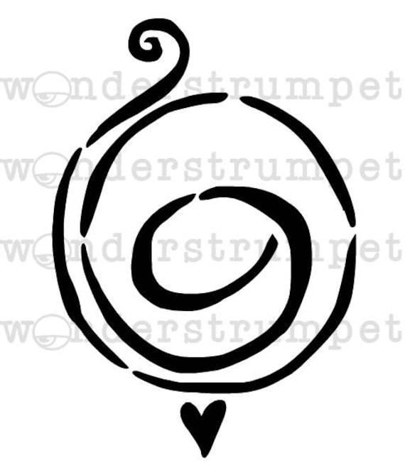 Love And Gratitude Stencil Etsy