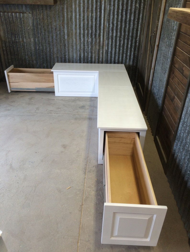 Attrayant Banquette  Corner Bench Seat With Storage Drawers