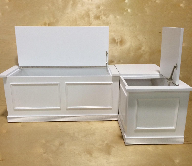 Banquette Corner Bench Seat With Storage Etsy