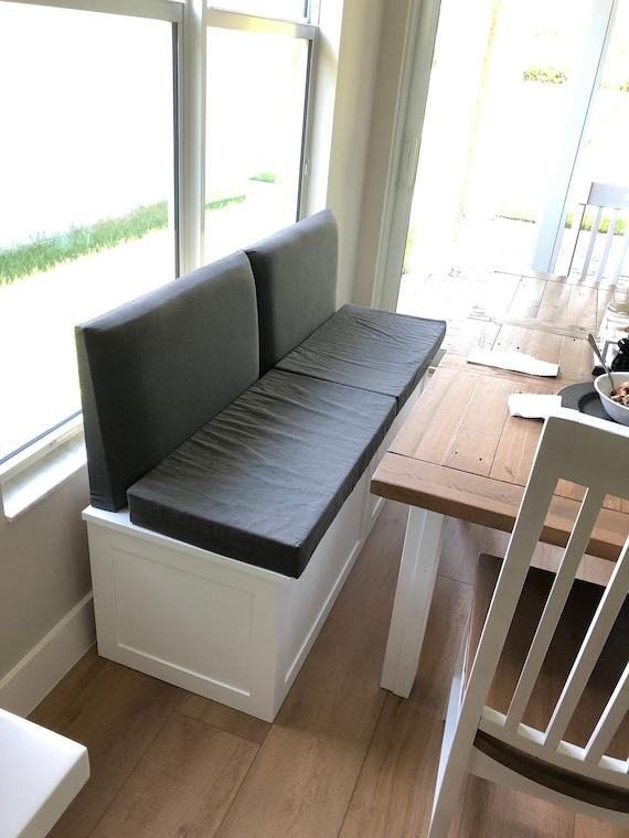 Miraculous Banquette Bench Seat With Backrest Machost Co Dining Chair Design Ideas Machostcouk