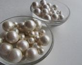 Fondant Edible Pearls Sample Ivory or white