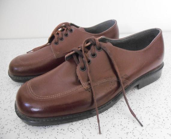 1970s vintage clarks school shoes in