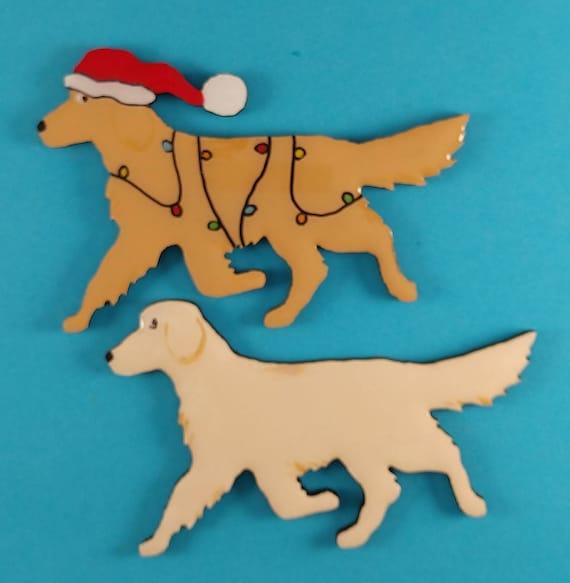 Make a great Gift! Golden Retreiver Dog Pin Golden Really nice pin