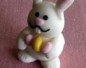 Easter fondant bunny cake...