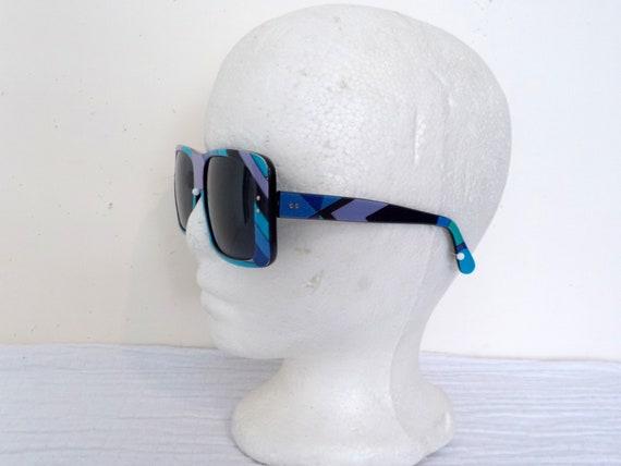 EMILIO PUCCI 1960's Oversize Sunglasses and origi… - image 8