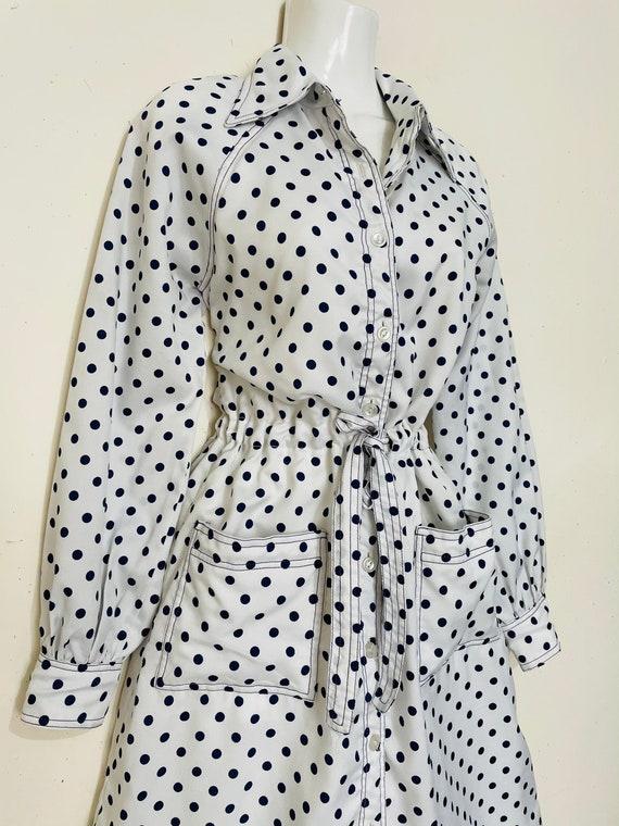 1960s /70s BONWIT TELLER Polka Dots MiNi Day Dress