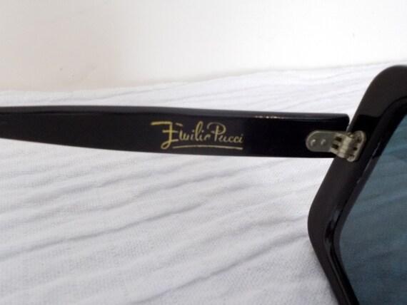 EMILIO PUCCI 1960's Oversize Sunglasses and origi… - image 5