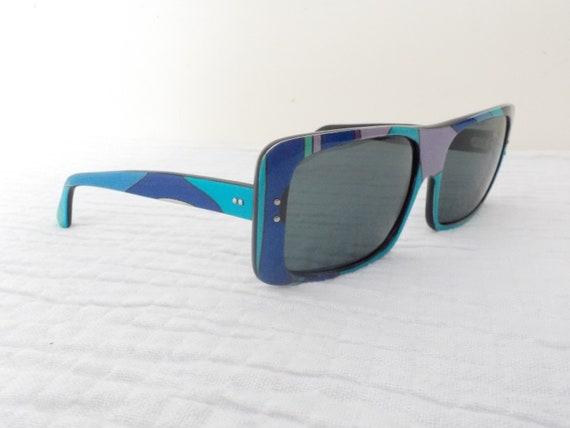 EMILIO PUCCI 1960's Oversize Sunglasses and origi… - image 7