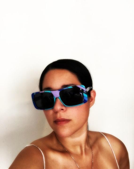 EMILIO PUCCI 1960's Oversize Sunglasses and origi… - image 2