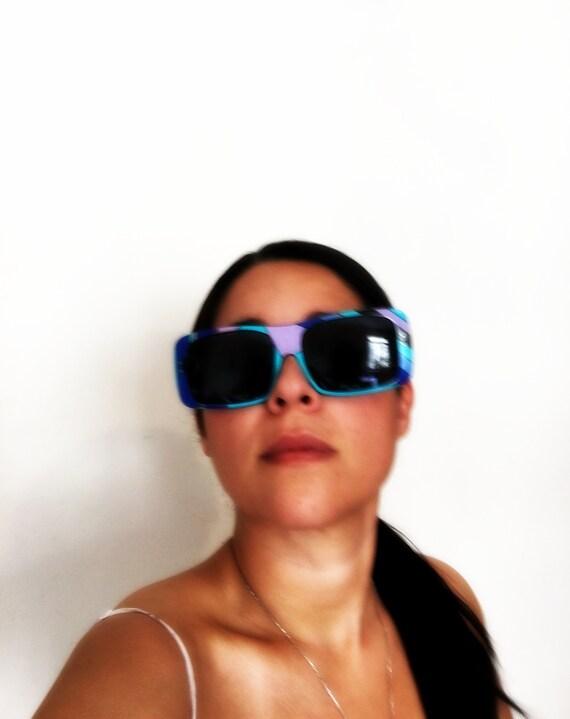 EMILIO PUCCI 1960's Oversize Sunglasses and origi… - image 1