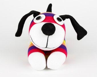 Christmas Gift New year Gift Handmade Sock Dog Stuffed Animal Doll Baby Toys