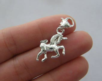 1 Unicorns are my spirit animal stainless steel pendant JS4-23