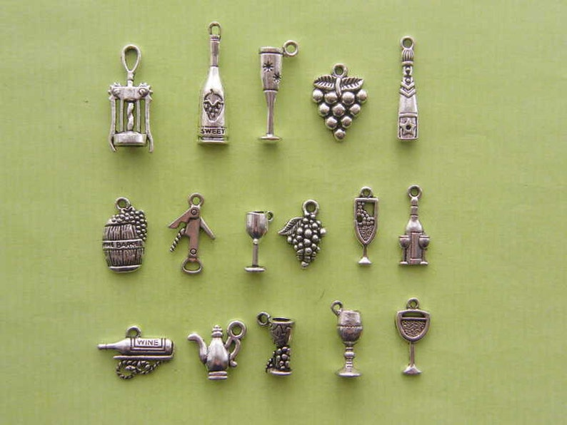 The Ultimate Love Wine  Charms Collection  16 different image 0