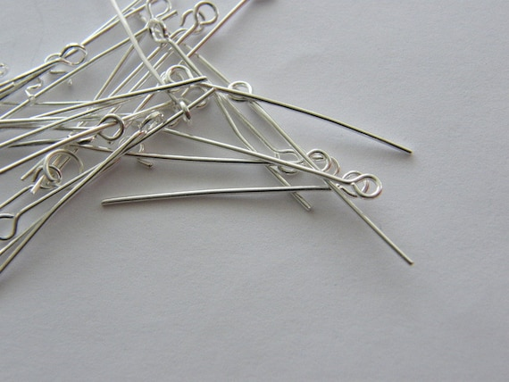 A granel 450 Eye Pins 30 mm FS479 Plateado Plata