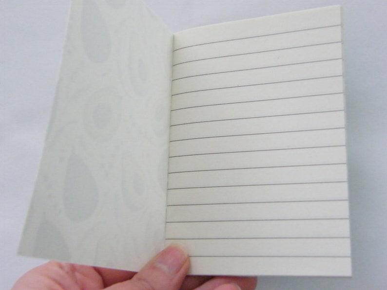 2 Avocado mini note book 12 x 8.5cm