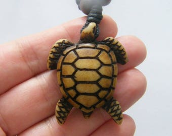 1 Turtle pendant resin NB25