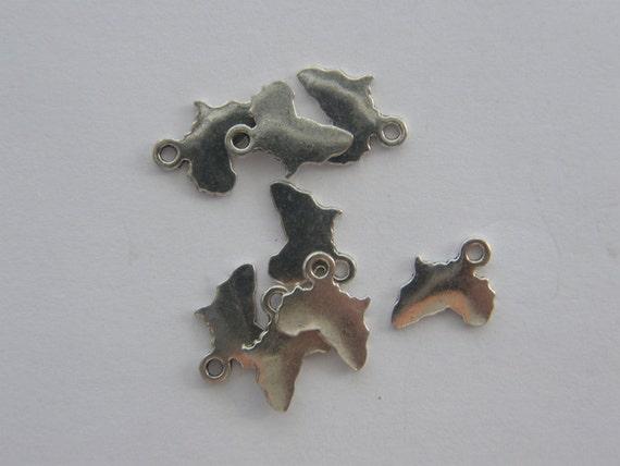 12Pcs Tibetan Silver Girl Charm Pendants Drops 7x18mm A191