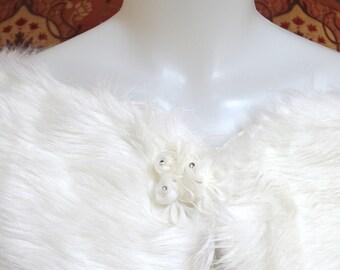 Ivory Bridal shrug, bridal wrap, Ivory wedding shrug, bridal cover up, wedding bolero, bridal shawl, wedding cape, wedding jacket