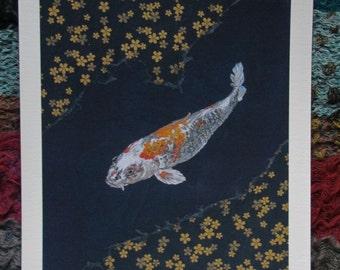 Koi Carp Fine Art print