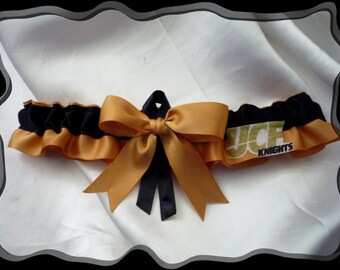 """University of Central Florida /""""UCF Knights/"""" Garters"""
