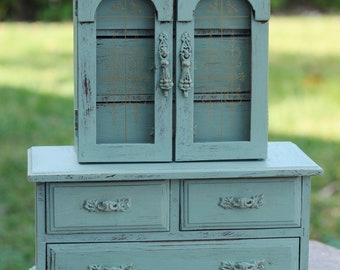 Large Jewelry Armoire Etsy