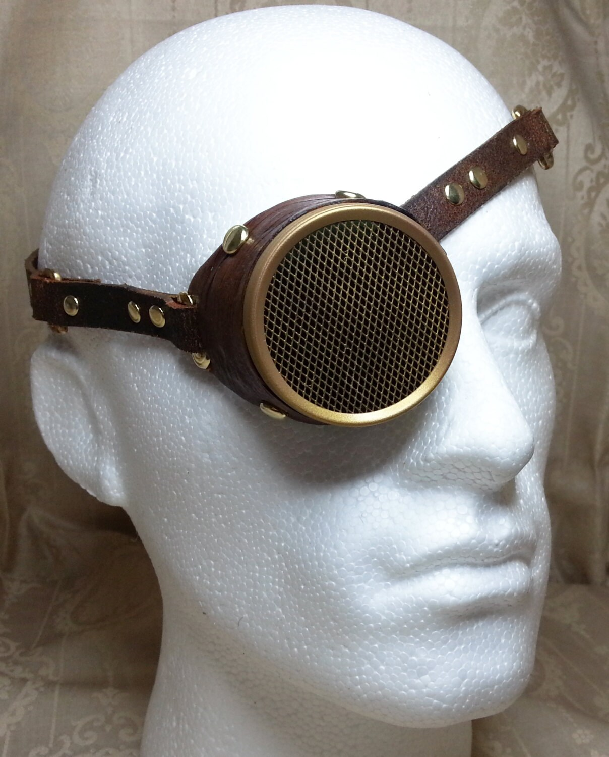 Steampunk Monocle Steampunk goggles vintage goggles | Etsy