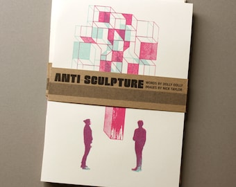 Anti-Sculpture Illustration/Poetry Zine